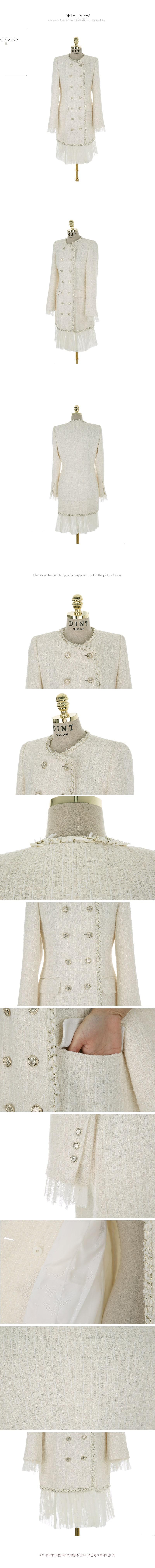 Váy Liền Thu Đông Tweed - VL5843
